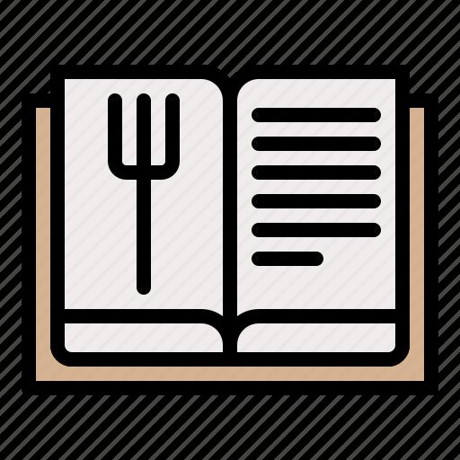 book, choose, list, menu, restaurant icon
