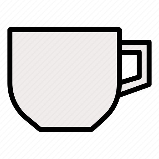 container, cup, drinkware, restaurant, tableware icon
