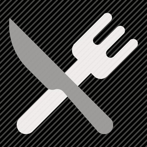 Cutlery, fork, kitchenware, knife, restaurant, utensil icon - Download on Iconfinder