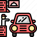 car, drive, fastfood, food, restaurant, shop, thru icon
