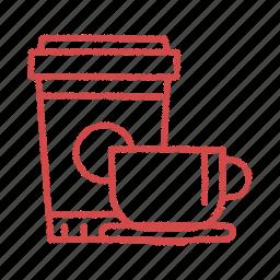 coffee, drink, refreshment., tea icon