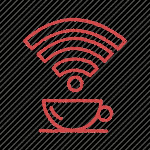 free, wifi, wifi on spot icon