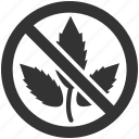 weed, no entry, no, prohibition, restriction
