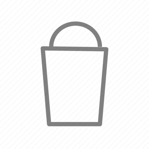 bag, basket, bathroom, restroom, rubbish, toilet, wc icon
