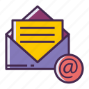 chat, email, mail, message, newsletter icon