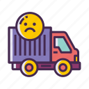 cannot move, cannot relocate, unable to relocate icon