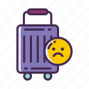 cannot travel, unable to travel icon