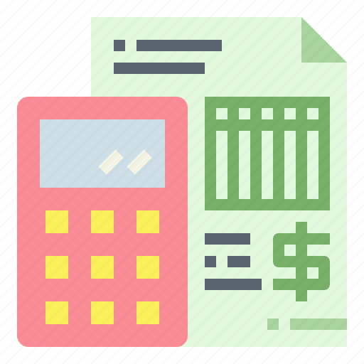 account, business, calculator, finance icon