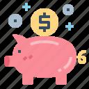 bank, coin, finance, piggy, saving