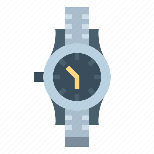 commerce, date, time, wristwatch icon