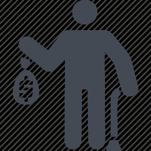 finance, money, pensioner, retirement savings, saving icon