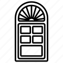 wooden, door