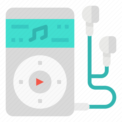 ipod, multimedia, music, player, song icon