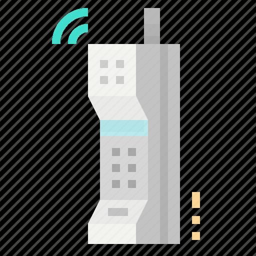 communications, mobile, phone, retro, vintage icon