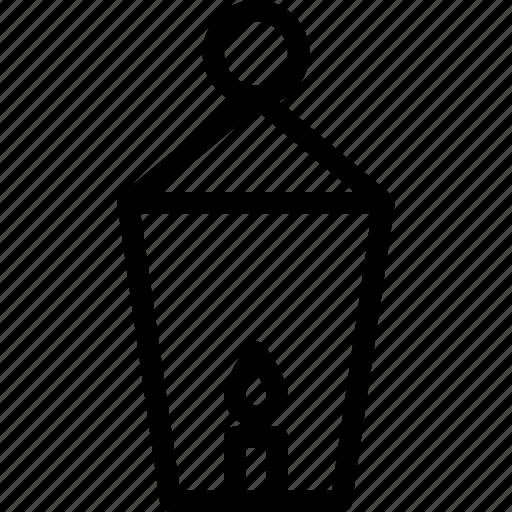 energy, lamp, light, power, street icon