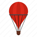transportation, balloon, sky, air, hot, basket, travel