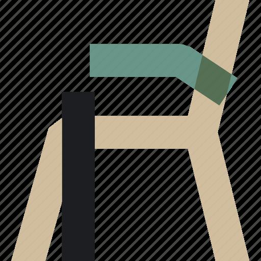chair, dining, livingroom, rest, retrofurniture, room, sit icon