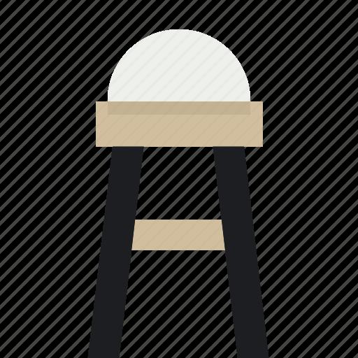 bar, chair, diningroom, party, retrofurniture, sit, stool icon
