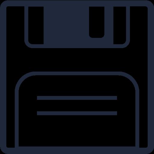 disc, disk, download, floppy, hard, save, storage icon