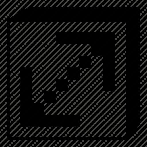 arrow, bottom, interface, left, minimal, right, up icon