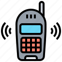 button, cellular, mobile, old, phone icon