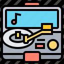music, player, record, vintage, vinyl