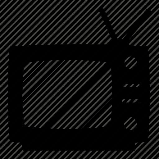 electronics, retro, retro tv, television, tv, vintage, vintage tv icon