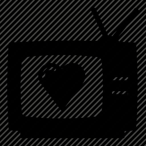 retro tv, tv, tv drama, tv program, tv series, tv show icon
