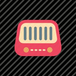 broadcast, classic, entertainment, music, radio, retro, speaker icon
