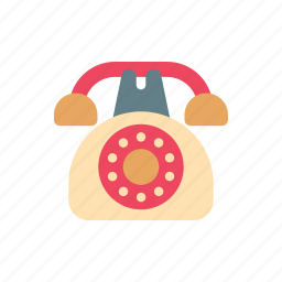 antique, communication, old, phone, retro, telephone, vintage icon