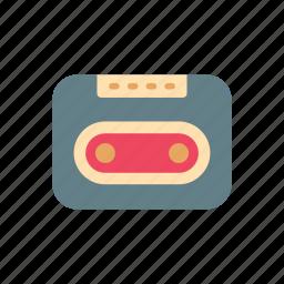 audio, cassette, music, music tape, recorder, retro, stereo icon