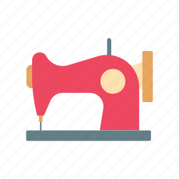 clothe, craft, retro, sew, sewing machine, tailor, textile icon