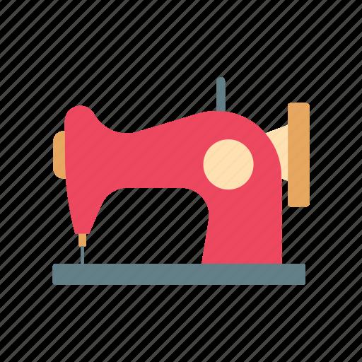 clothe, craft, retro, sew, sewing machine, tailor, textile icon