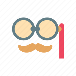 fashion, glasses, hipster, moustache, old, retro, vintage icon