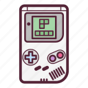 game, gameboy, gaming, handheld game console, play, pocket, retro icon