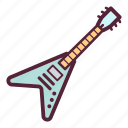 audio, electric guitar, guitar, instrument, music, musical instrument, sound icon
