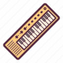 equipment, instrument, keyboard, music, piano, sound, synthesizer icon