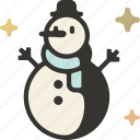 christmas, snow, xmas, holiday, snowman, winter