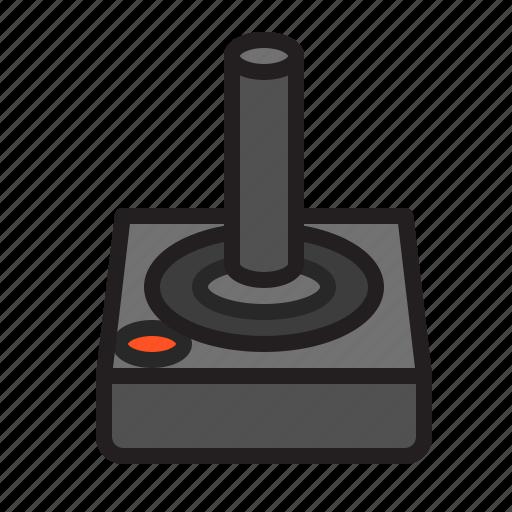 Atari, controller, game, gaming, joystick, play, retro ...