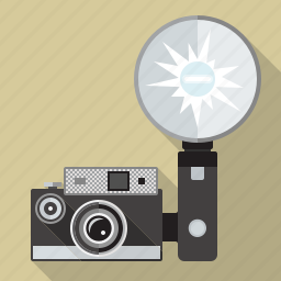 camera, compact camera, equipment, flash, retro, technology, vintage icon