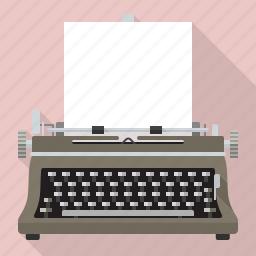 equipment, office, retro, technology, typewriter, vintage, writing icon