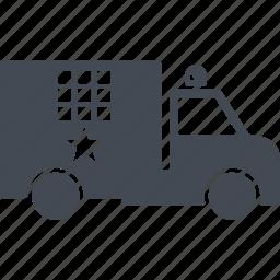 police van, revolution, transport, van icon