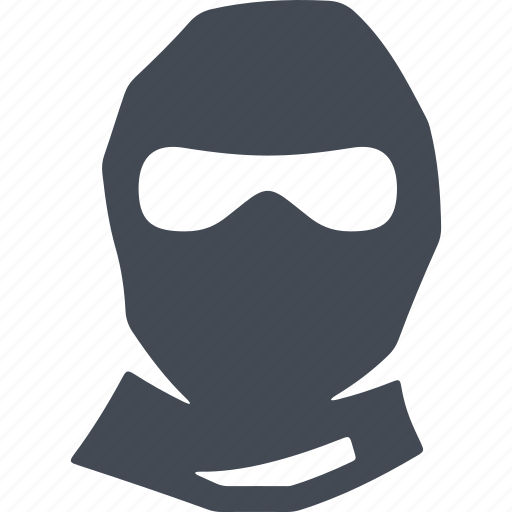 balaclava, disguise, protection, revolution icon