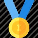 award, badge, first, medal, reward, winner