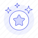 badge, circle, coin, gold, medal, rewards, sparkle, star