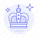 star, rewards, sparkling, crown, king, queen, monarch, gold
