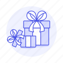 box, boxes, gift, open, rewards, surprise, tie icon