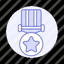 star, circle, rewards, badge, coin, medal, gold