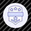 star, rewards, insignia, black, ranking, rank, badge