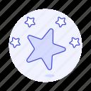 blank, gold, rating, rewards, star icon